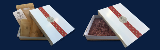 Chocolate Brownie Bake in a Box Banner